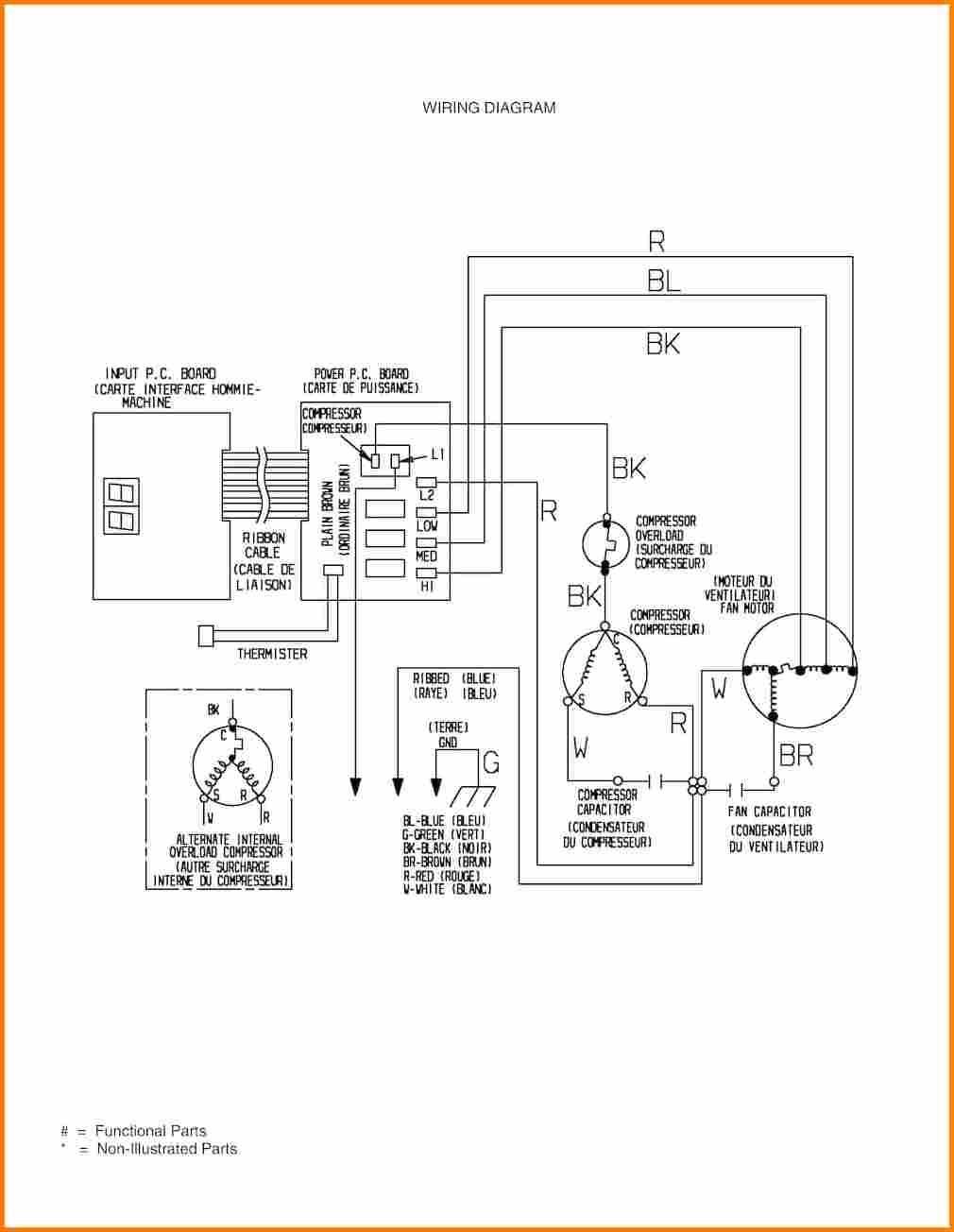 3 phase ac pressor wiring diagram goodman a c pressor wiring diagram 3 phase air new capacitor