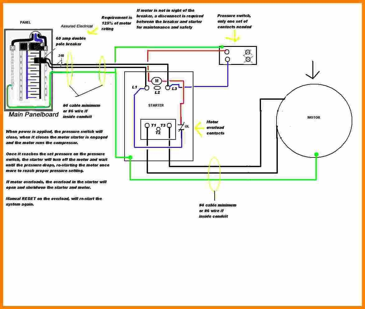 Ge Motor Starter Wiring Diagram - Collection