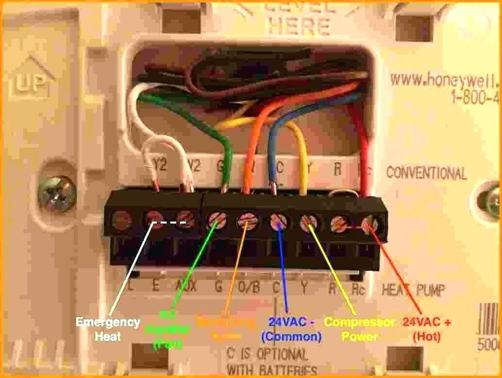 Wiring Diagram For Honeywell Thermostats