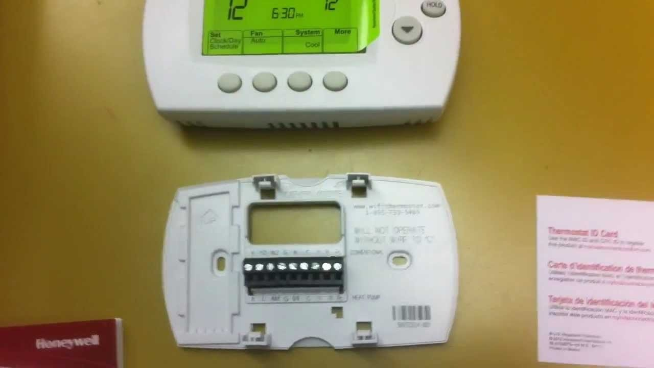 Wifi wiring diagram honeywell wi fi thermostat install part 3 for petent include in 7 day