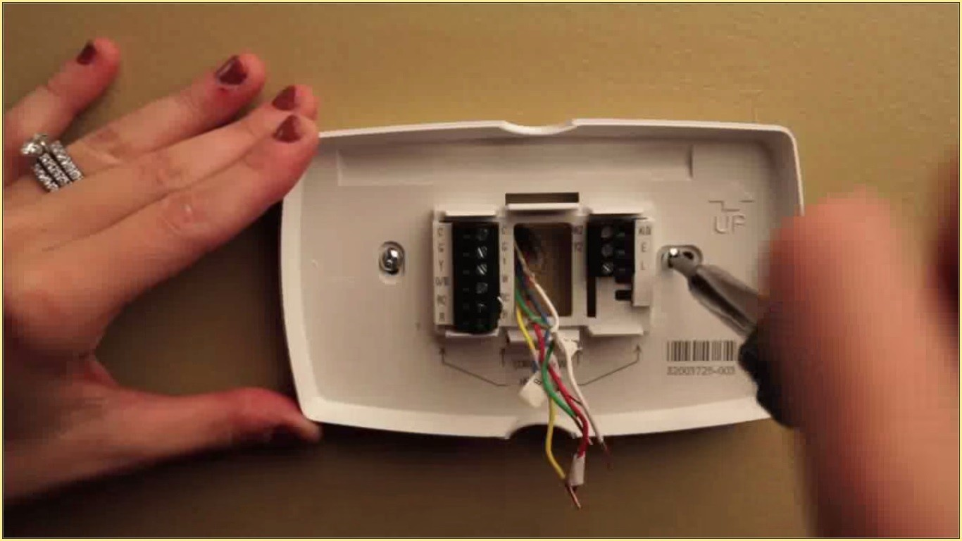 7 Day Programmable Thermostat RTH8500D How to install and program your Honeywell thermostat