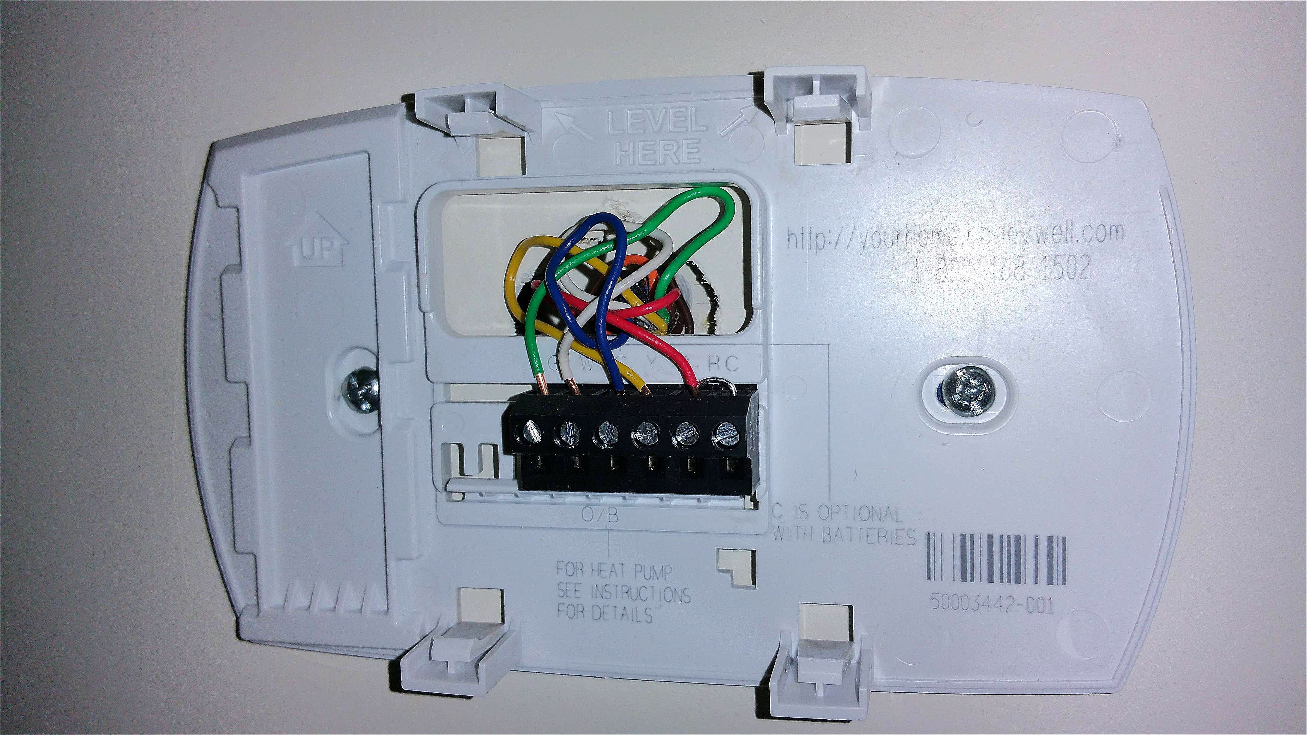 Honeywell Heat Pump Thermostat Wiring Diagram Thoritsolutions
