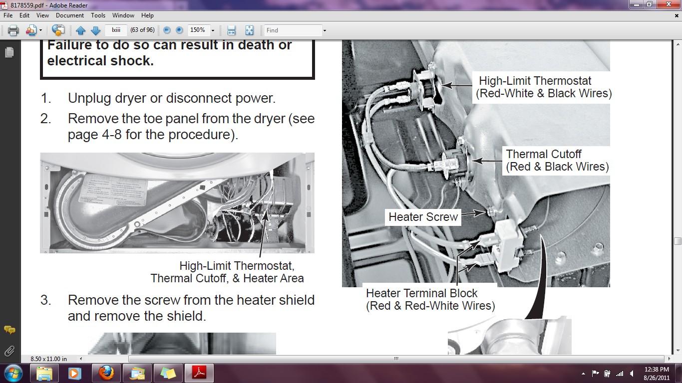 Download Heater Element Wiring Diagram size