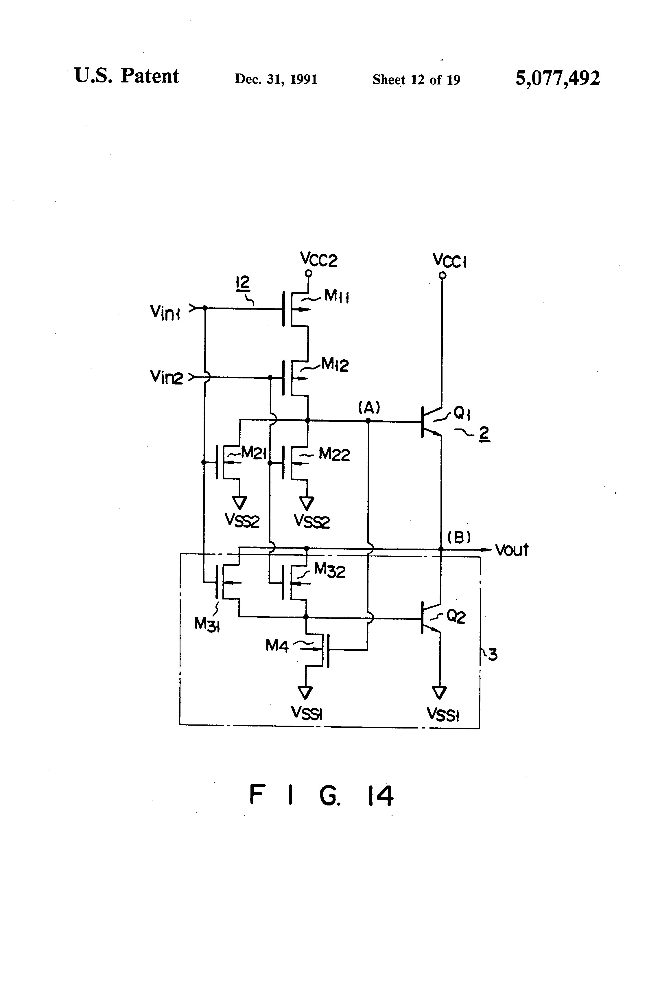 ponent Circuit Diagram And Gate Nand The Patent Us Bicmos Circuitry Having A bination
