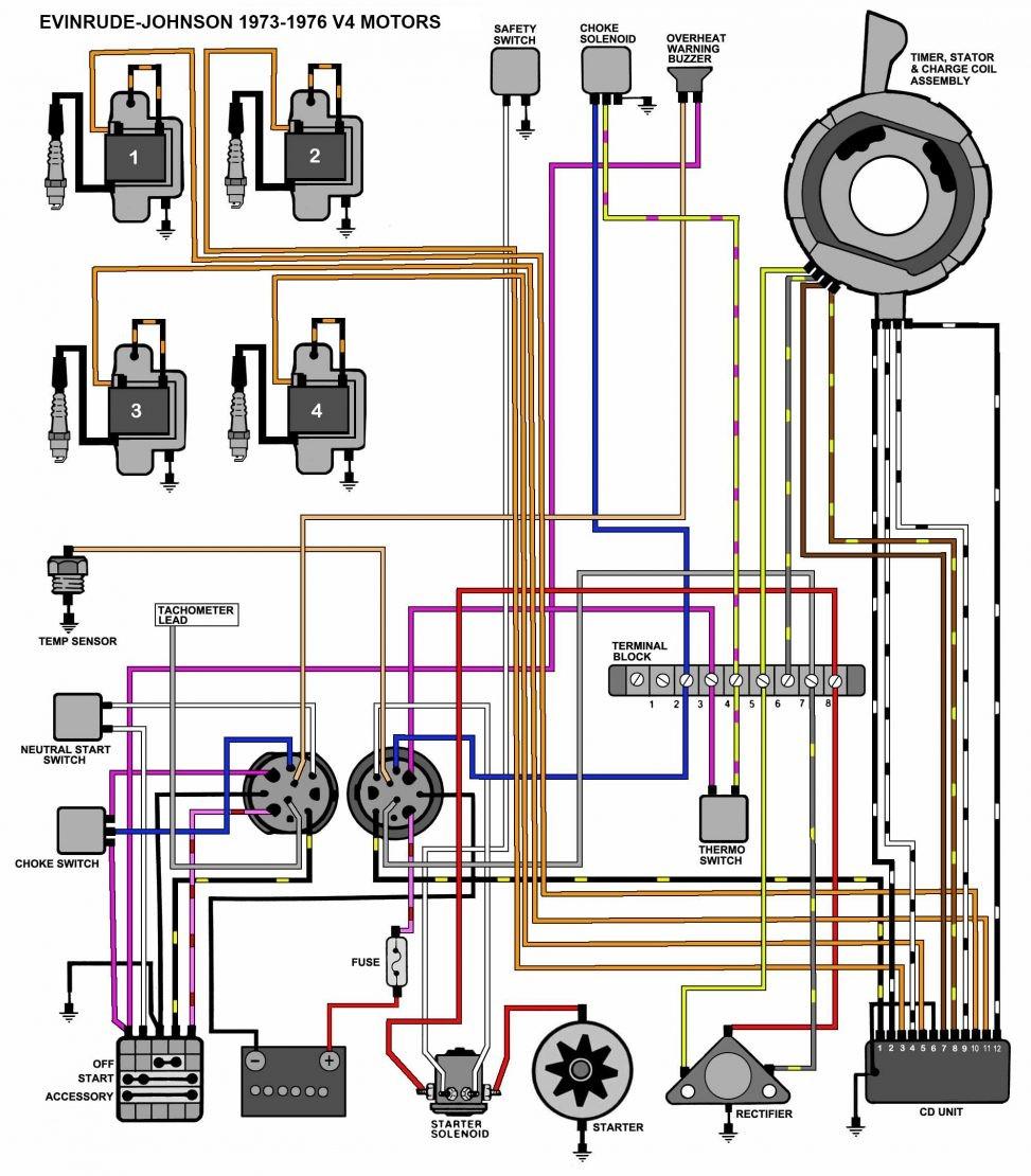 Mercury Outboard Ignition Switch Wiring Diagram Yirenlu Me Beautiful