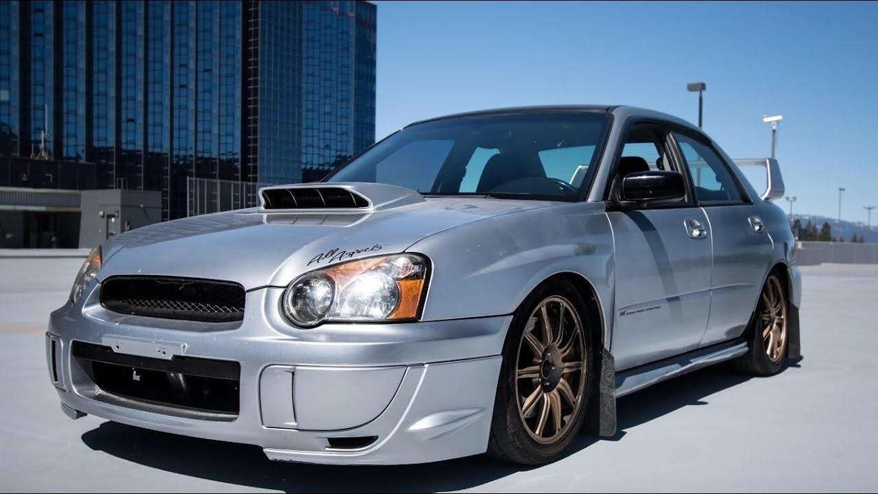 My 2004 Subaru WRX STI Walkaround