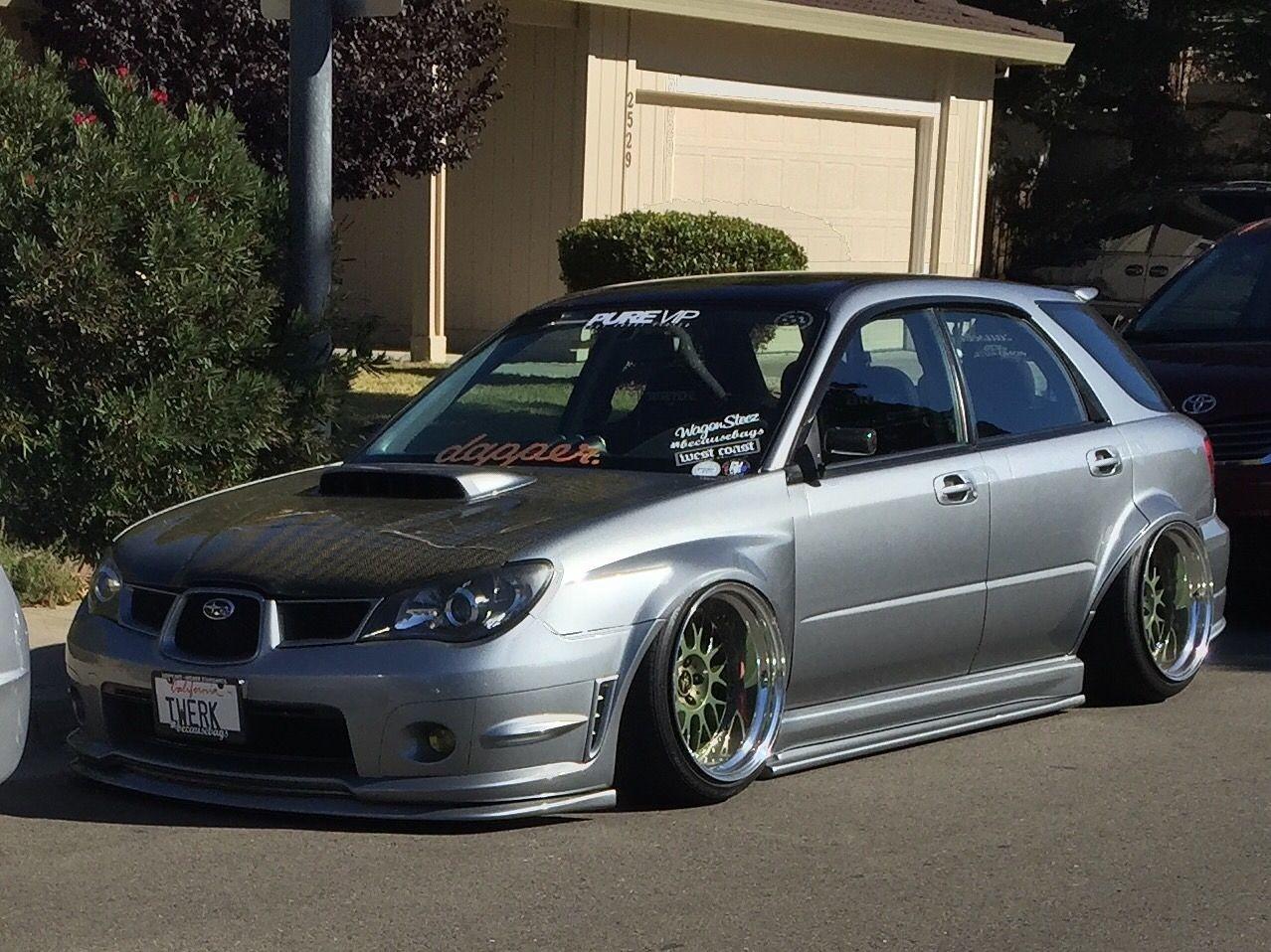 Subaru Impreza WRX Wagon Tuning Pinterest