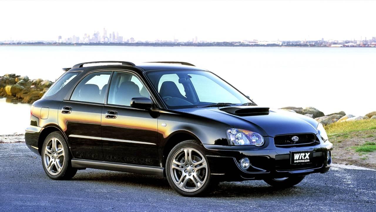Subaru Impreza WRX Wagon AU spec GGA 2002–05