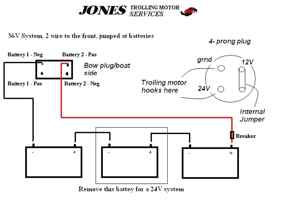 24v Trolling Motor Wiring Diagram Efcaviation Best 24 Volt Throughout
