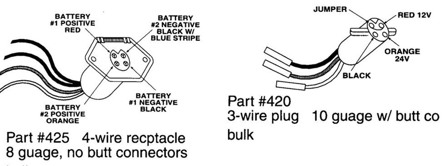 24 Volt Battery Hookup Help Please At Volt Trolling Motor Wiring Diagram