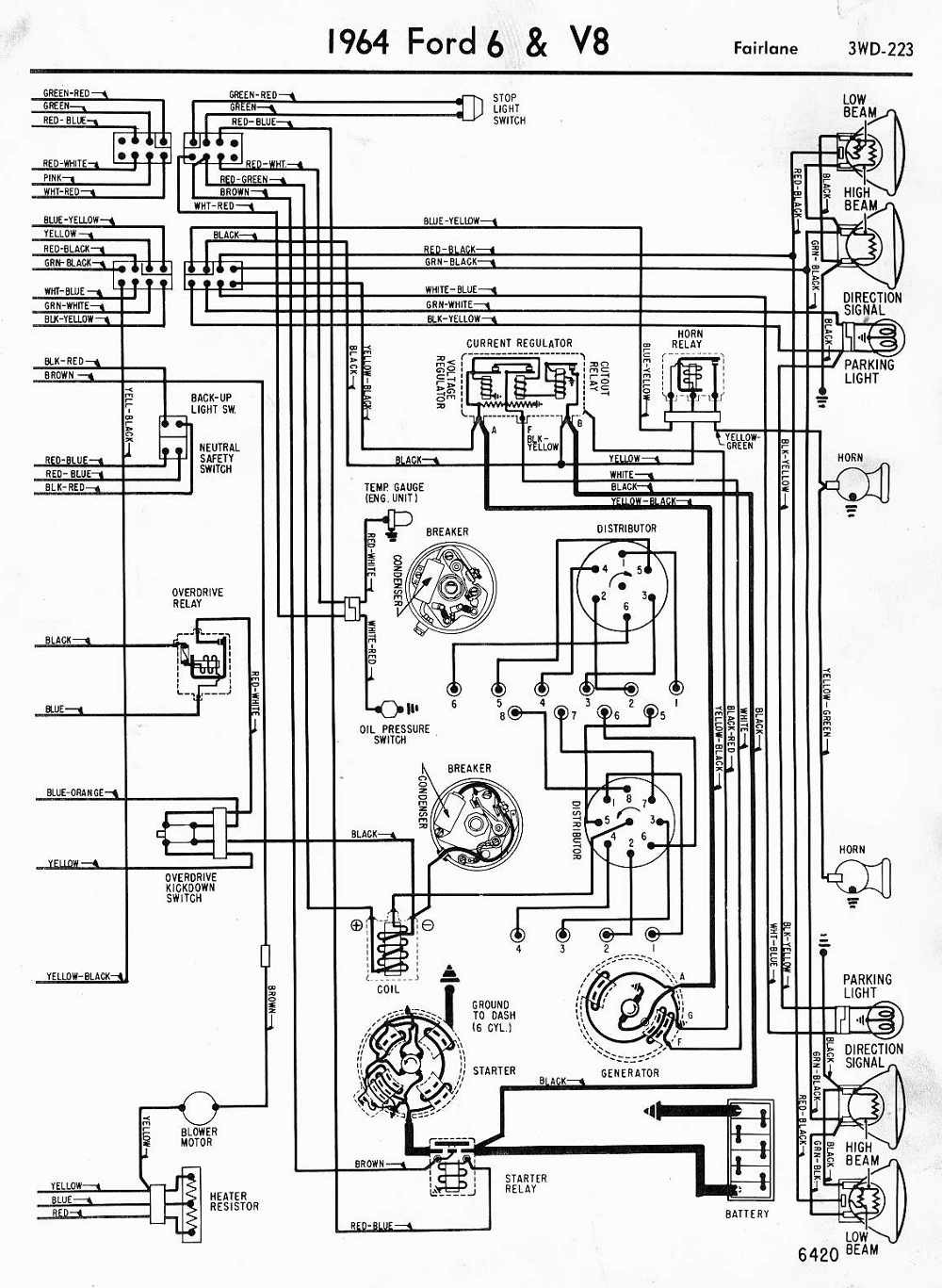1952 Ford Customline Wiring Diagram Library 1955 Plymouth Trusted Truck Diagrams