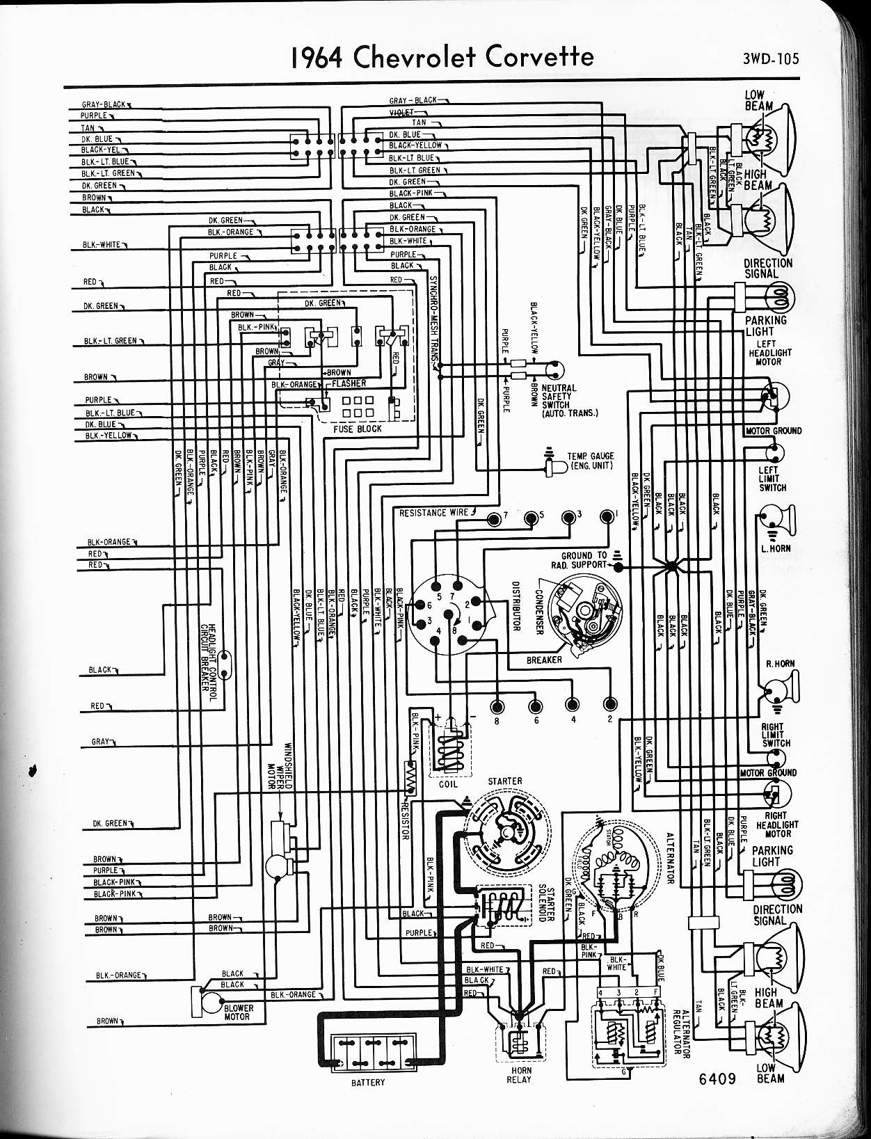 1973 Corvette Wiring Schematic - Trusted Wiring Diagrams •