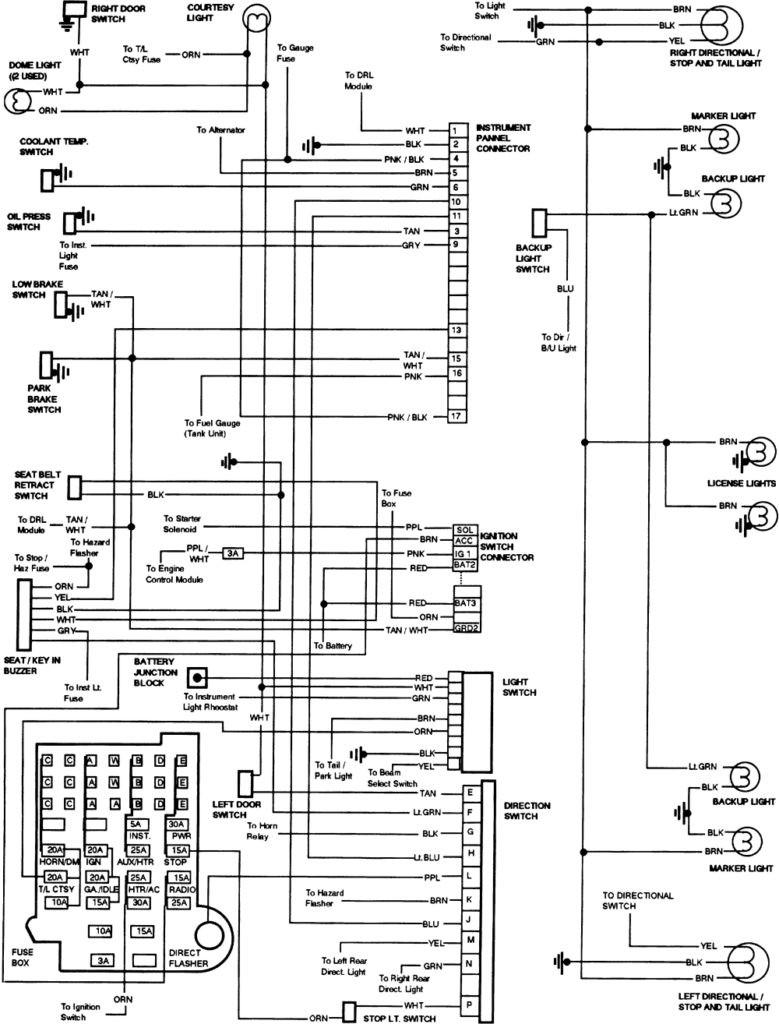1983 k30 wiring diagram schematics wiring diagrams u2022 rh seniorlivinguniversity co GM Factory Wiring Diagram 1983 chevy truck starter wiring diagram