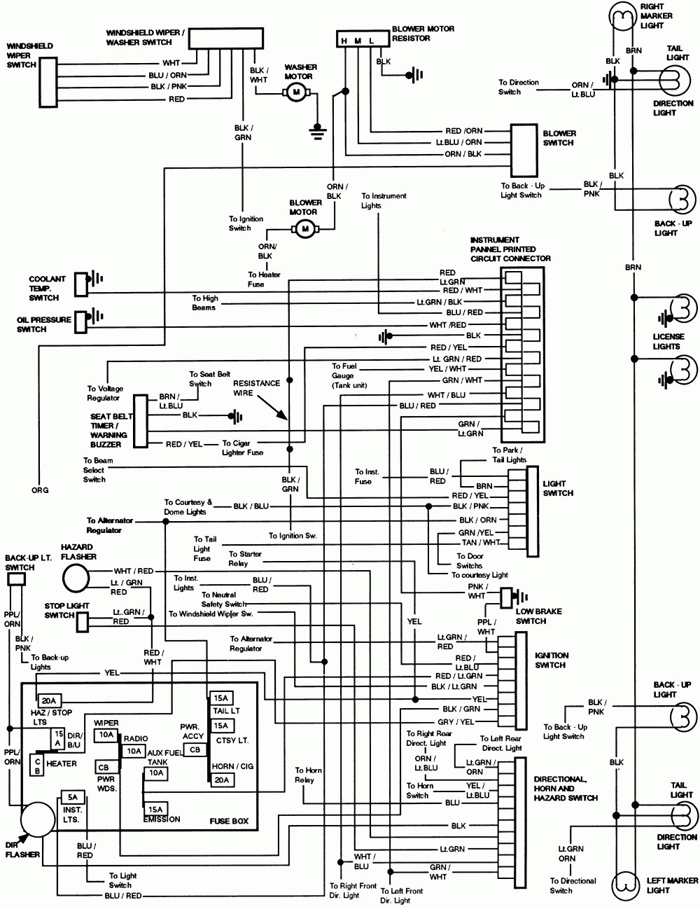 1994 ford e350 wiring diagram electrical wiring diagram guide 1951 Ford Wiring Harness
