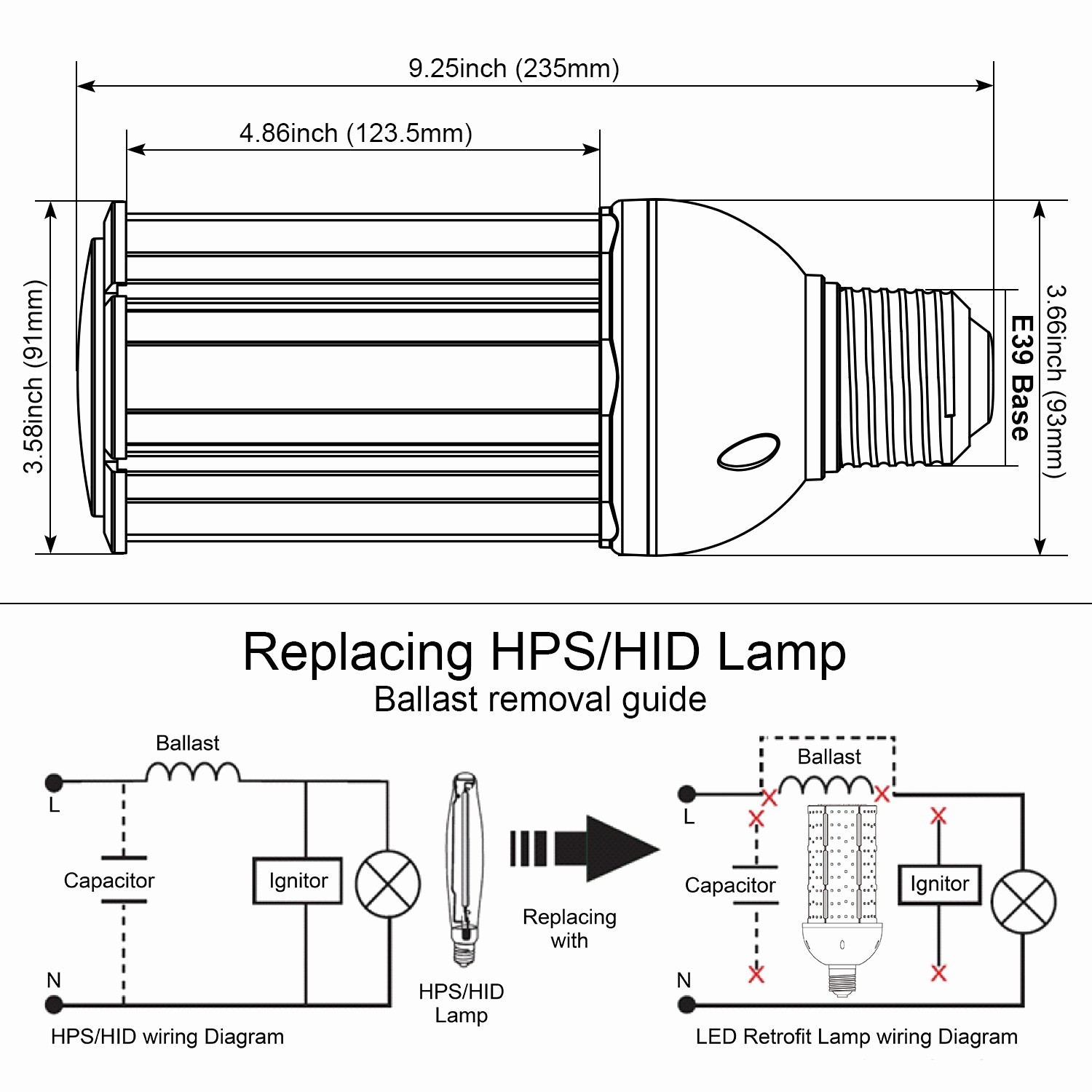 Wiring Hps Mh Free Download Led Grow Light Diagram 150w Example Electrical Circuit U2022 Ballast At