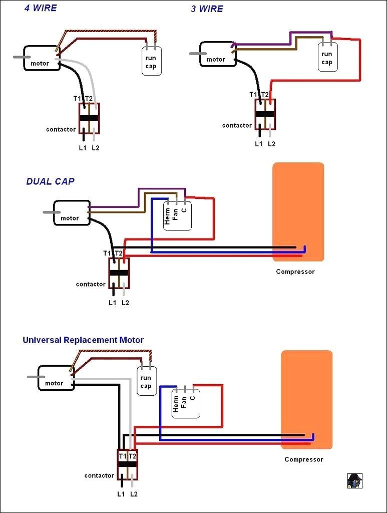 4 Wire Motor Wiring Diagram New 2 Speed Fan Wiring Diagram Electric