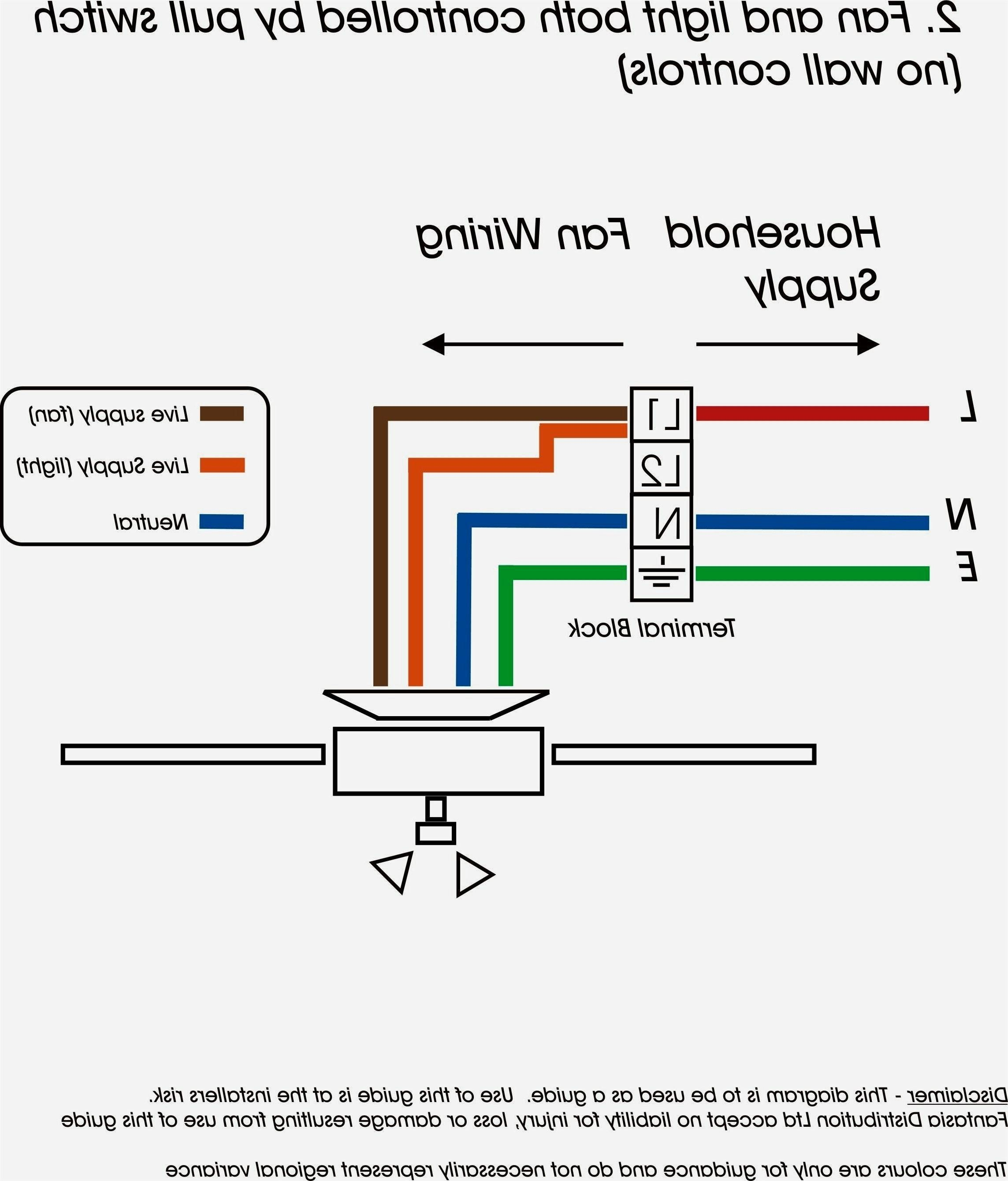 Wiring A Ceiling Fan Light Part 2 Diagram For 4