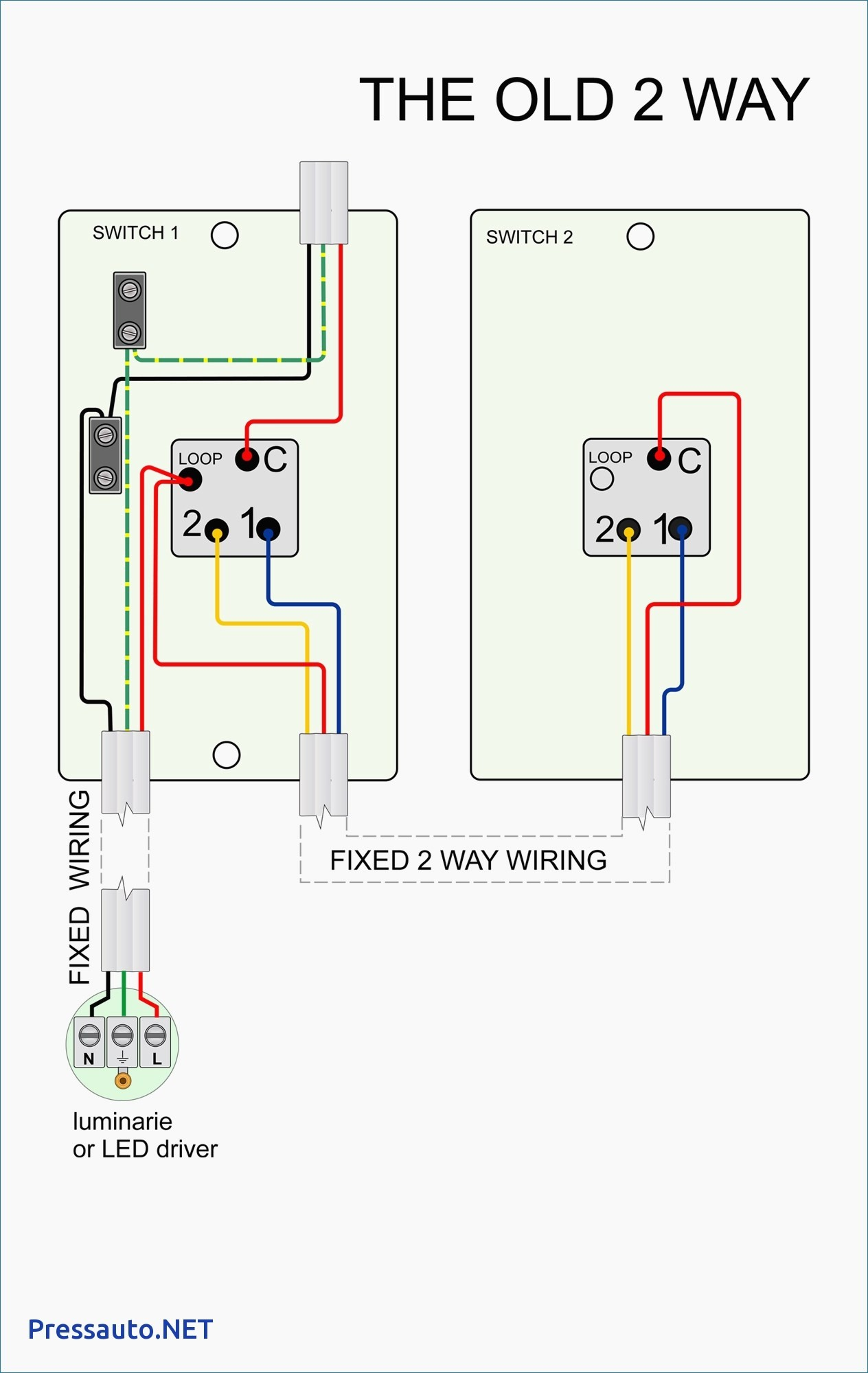 Tractor With Lights 2 Switches Wiring Diagram Beautiful Light Switch Way