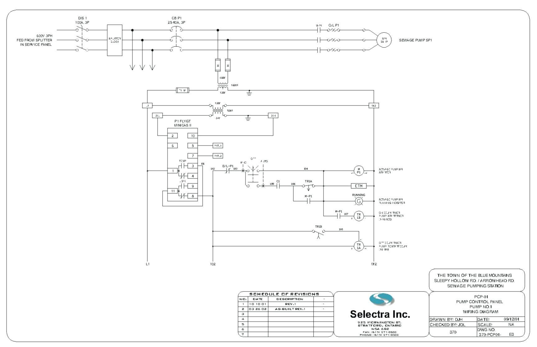 Fine Submersible Pump Wire Chart Elaboration - Wiring Diagram Ideas ...
