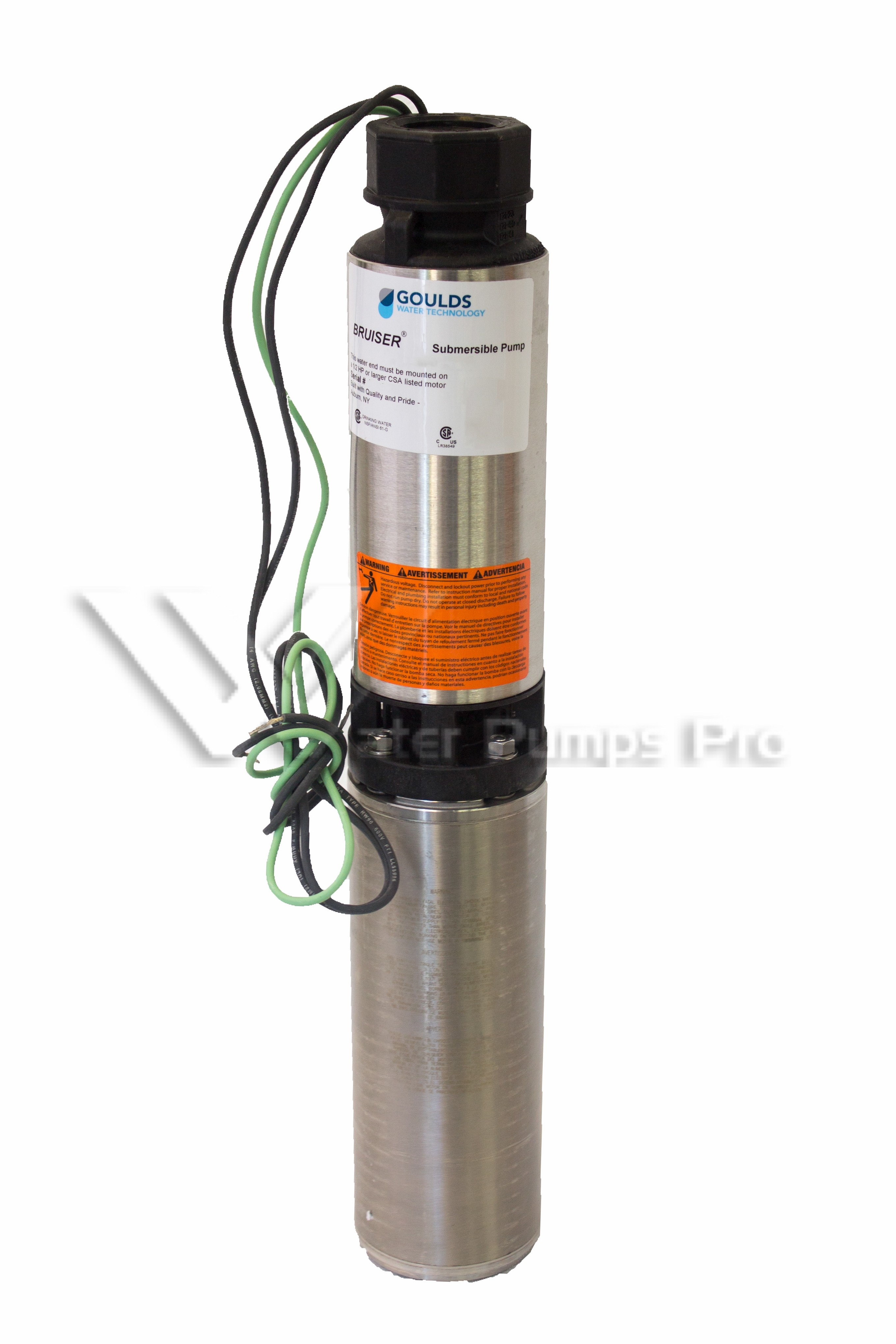 Goulds 5SB C 5 GPM 1 2 HP 230V Submersible Water Well pump
