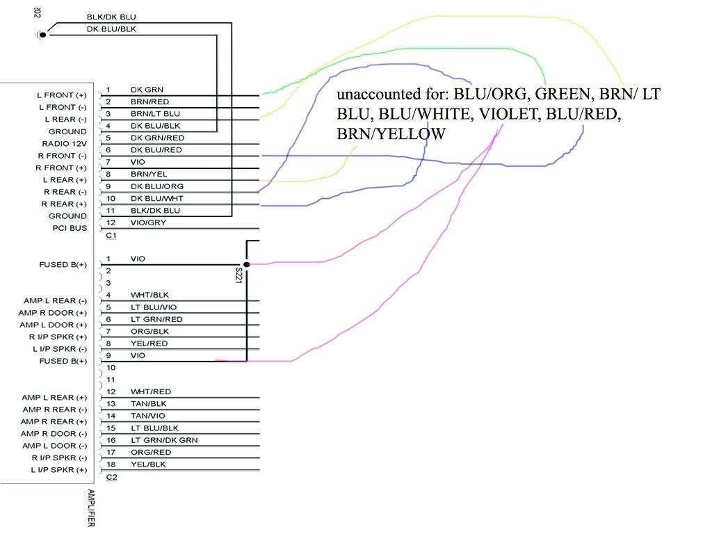 2005 dodge ram 1500 stereo wiring diagram mihella me chrysler dodge wiring diagram 2005 dodge ram