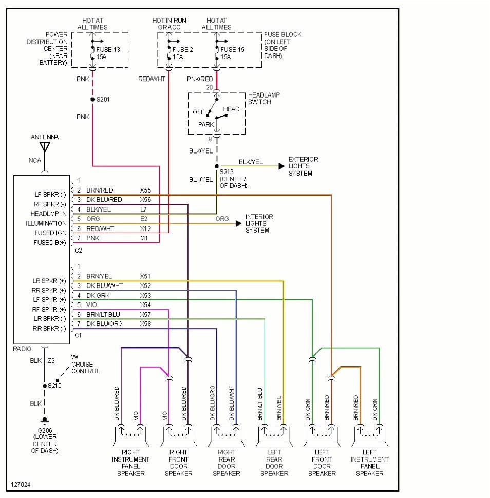 2006 Dodge Ram 1500 Stereo Wiring Diagram Daigram In