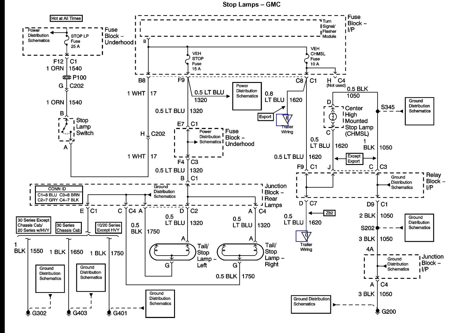 2003 Chevy Silverado Tail Light Wiring Diagram | Wiring ...