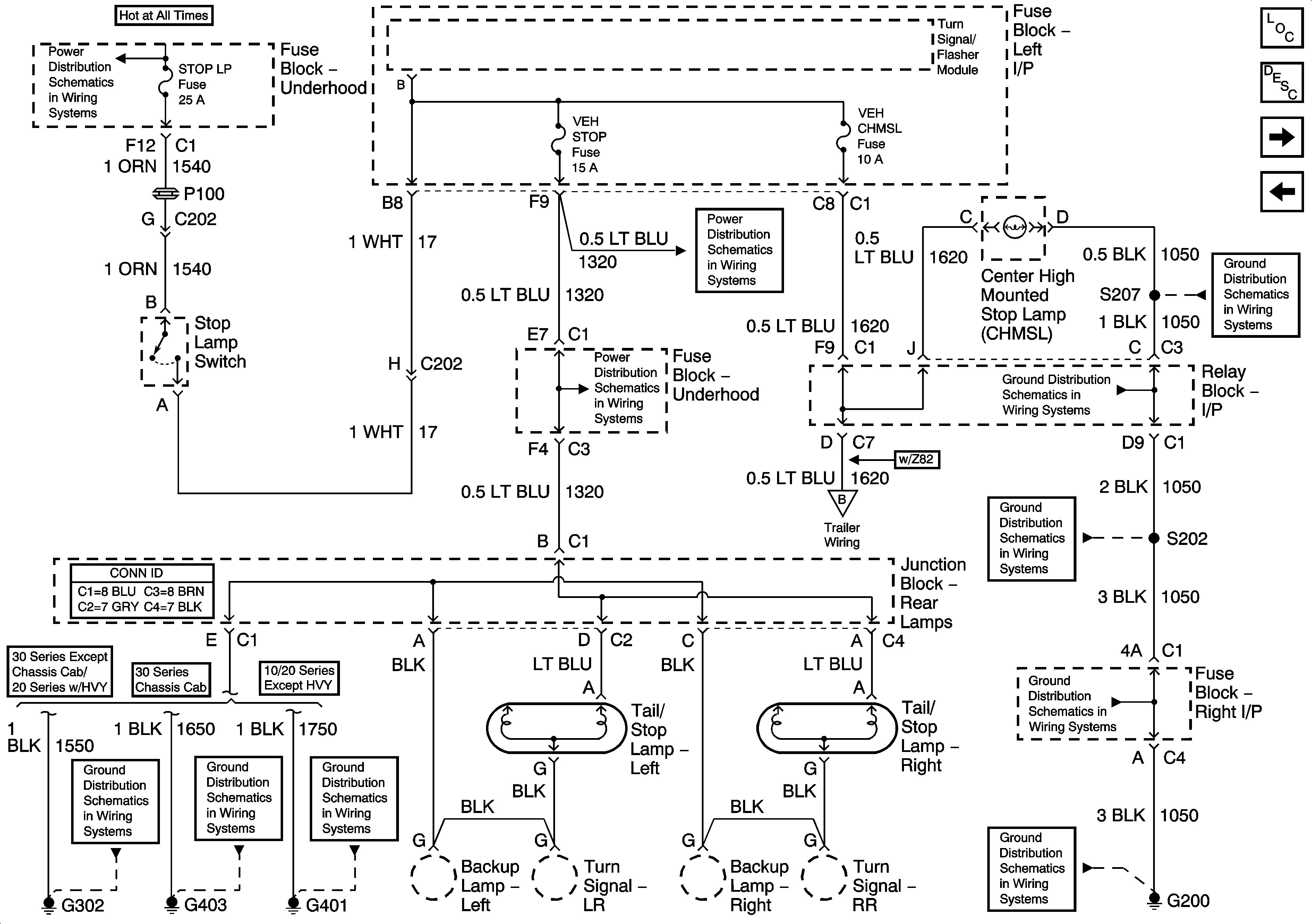 2003 Chevy Silverado Tail Light Wiring Diagram