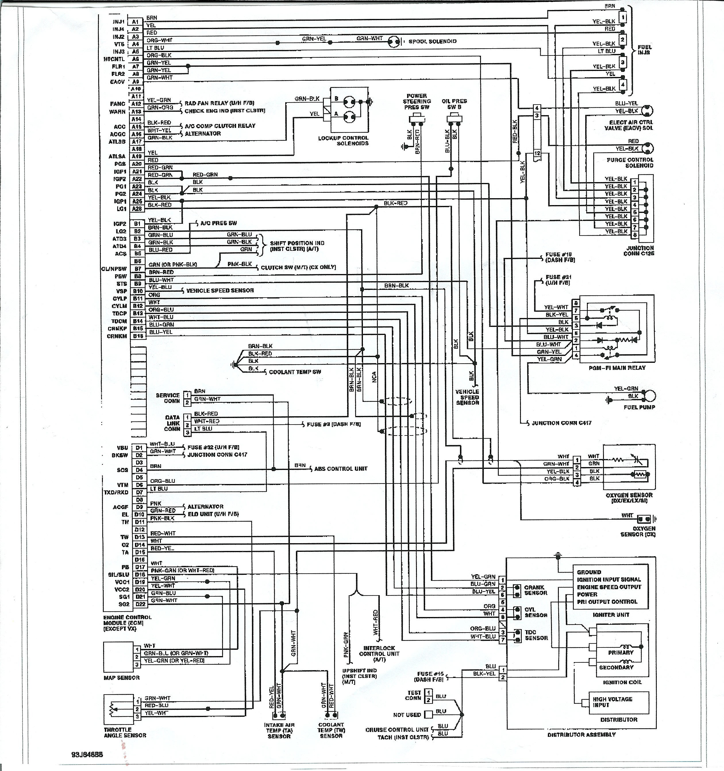 Honda Civic 2003 Wiring Diagram