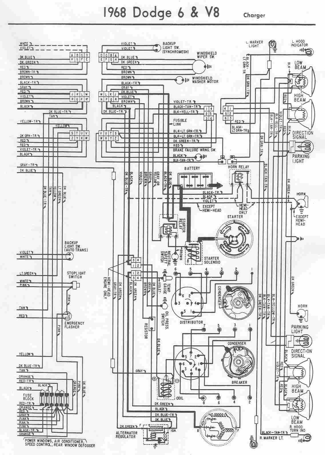 1990 Dodge Ram Wiring Diagram Library 2005 Tail Light Image Alternator Regulator 1968