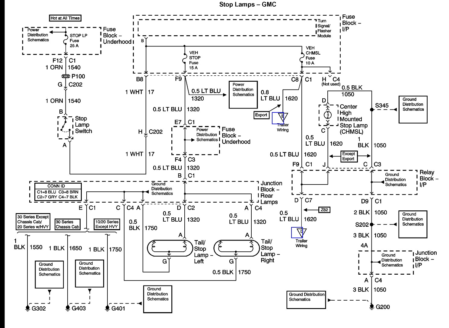 Radio Wiring Diagram For A 2000 Chevy Silverado : Chevy silverado truck wiring diagrams