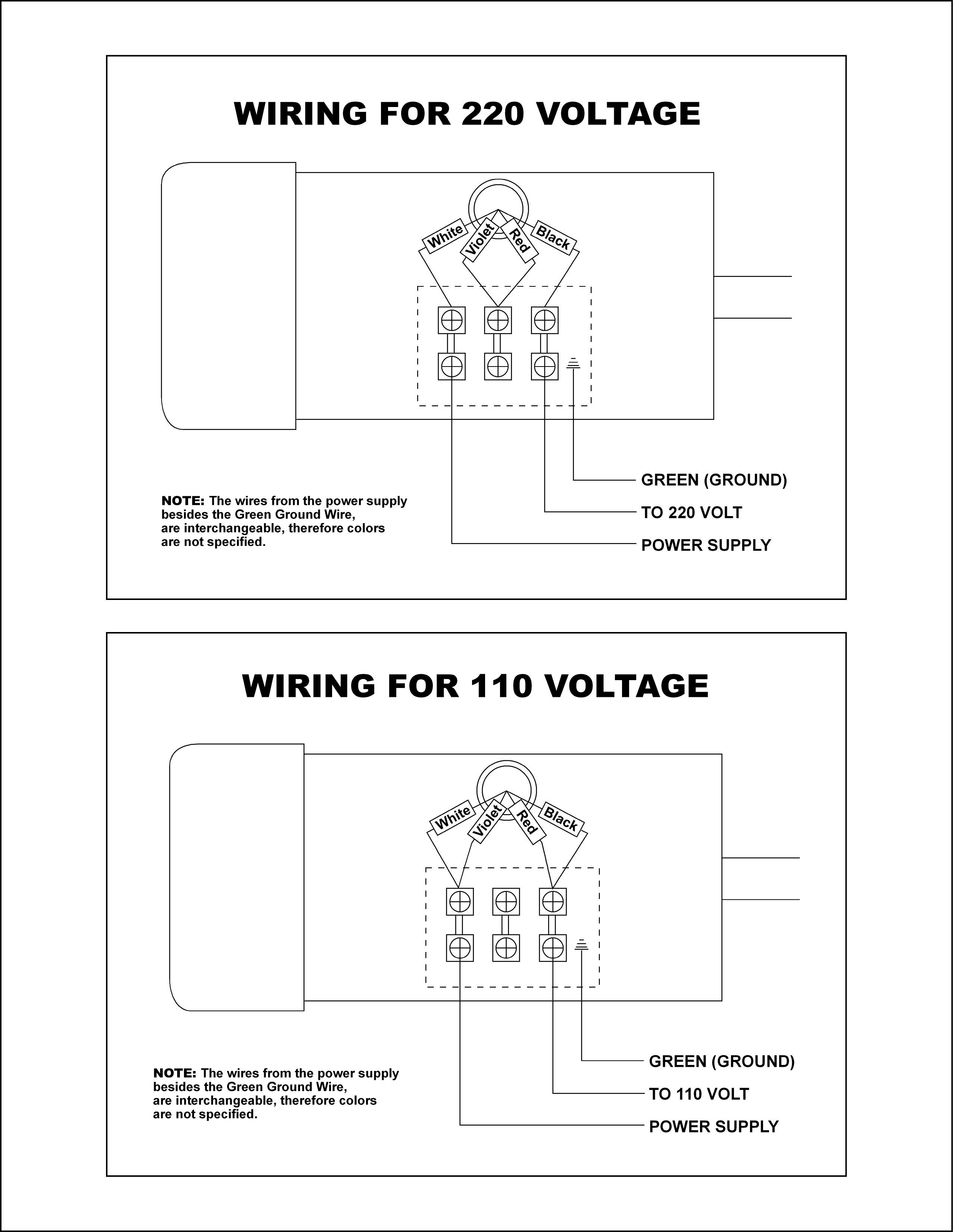 240 Single Phase Wiring Diagram - Wiring Library