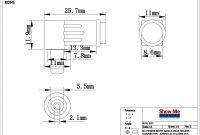 3.5mm Jack Wiring Diagram Inspirational 3 5 Mm Jack Wiring Diagram Fresh 2 5mm Id 5 5mm Od Power Connector