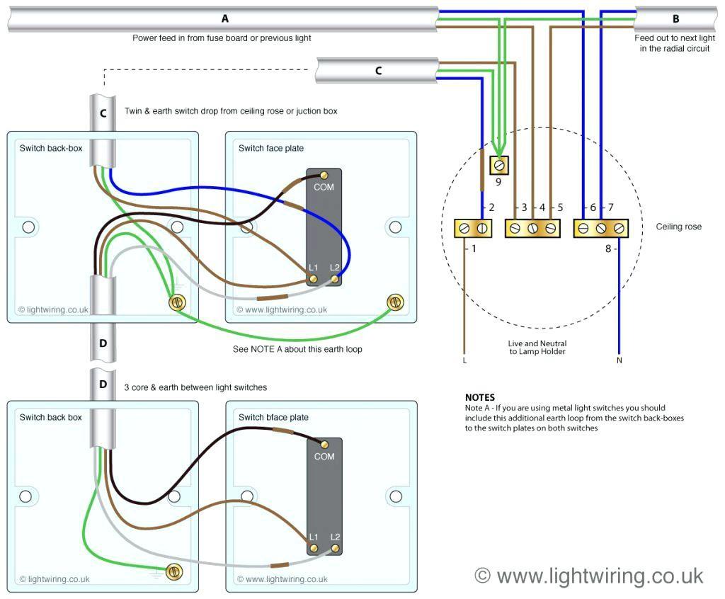 3 Way Light Switching Wiring Diagram Awesome | Wiring Diagram Image