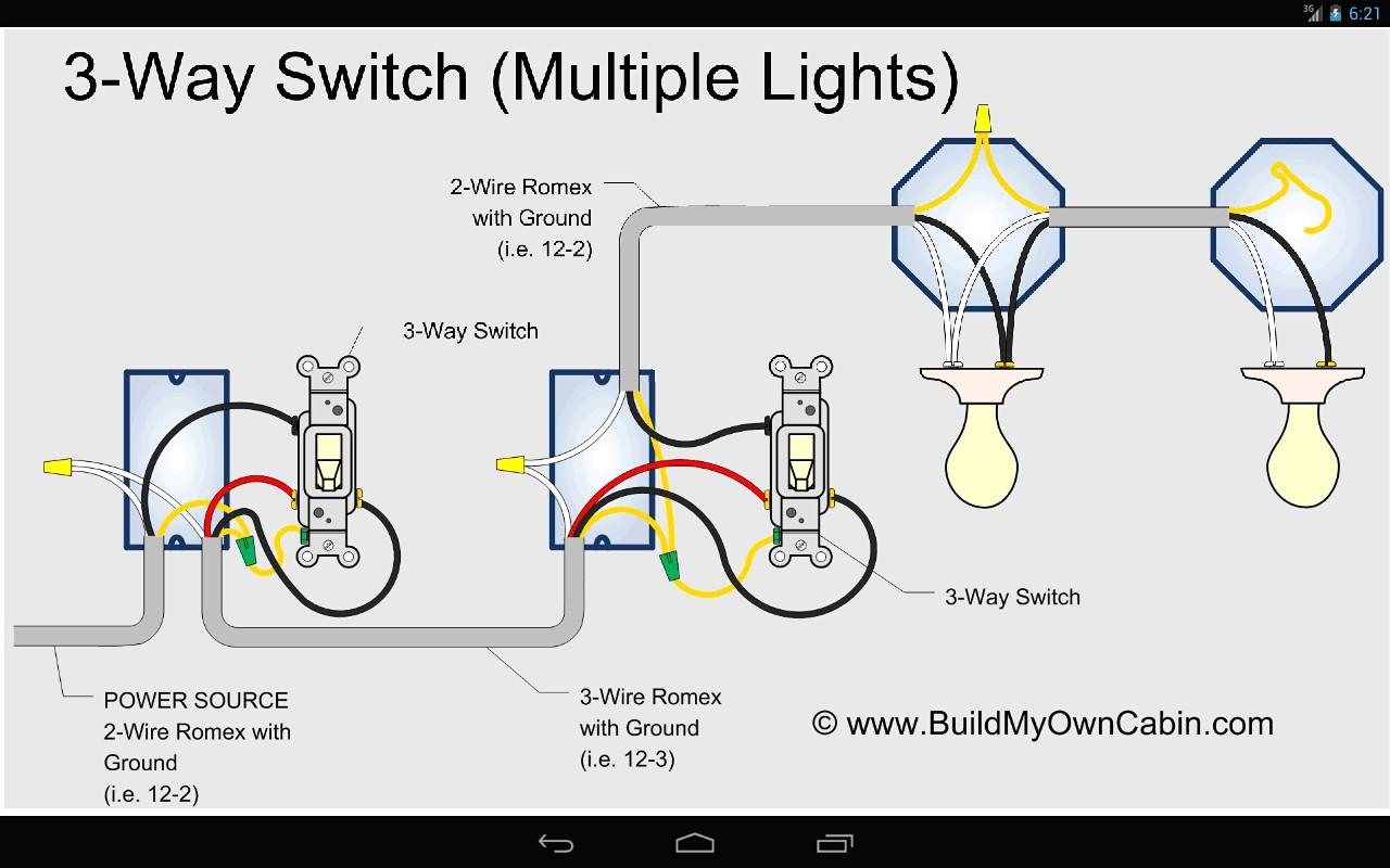Diagram Wiring 3 Way Switch