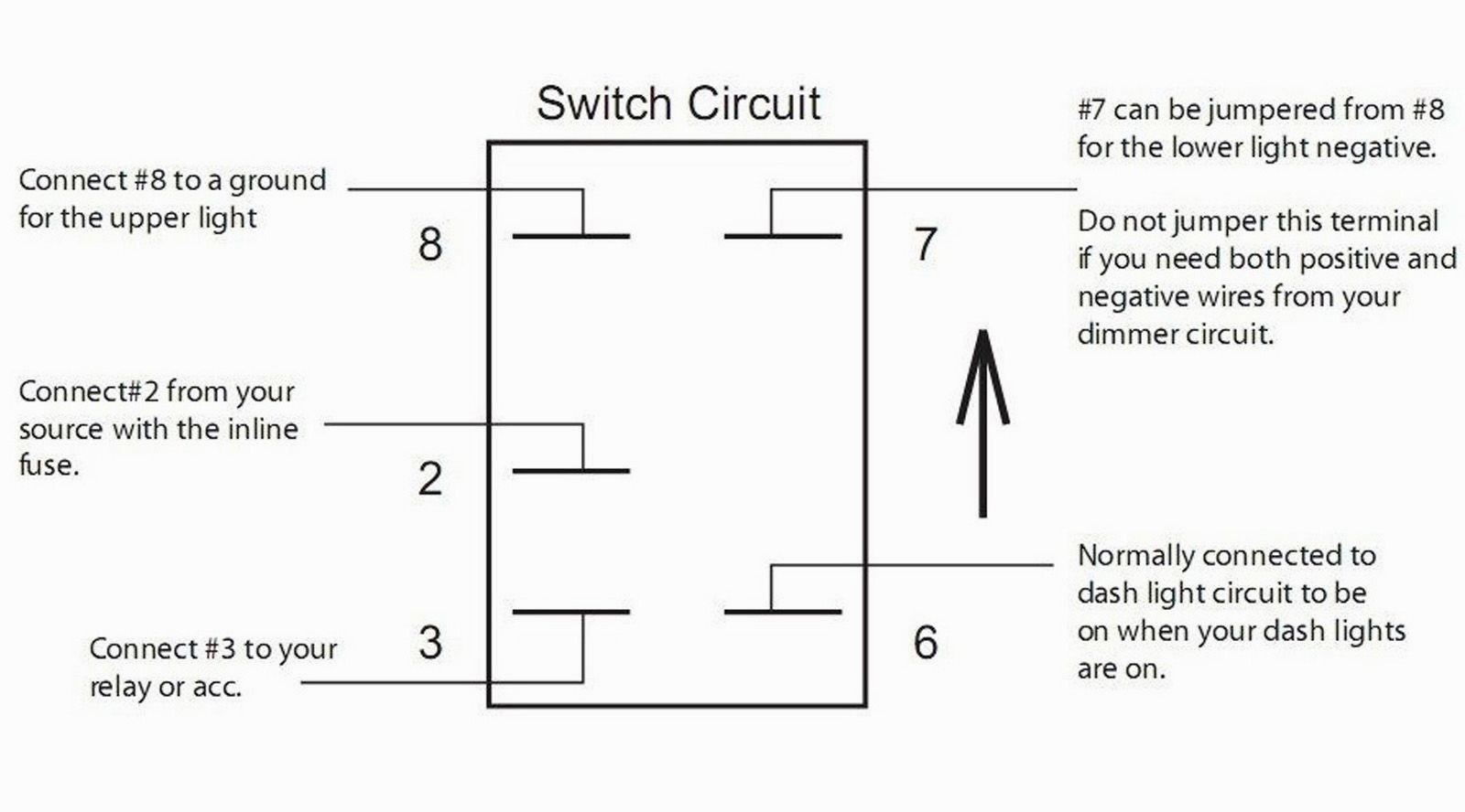 Excellent Toggle Switch Wiring Diagram 12V Diagrams 12v 3 Way 4 Tearing