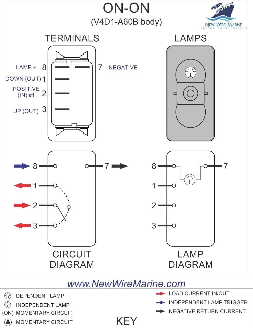 3 way rocker switch wiring diagram diagram 3 way toggle switch wiring diagram unique image cheapraybanclubmaster Choice Image