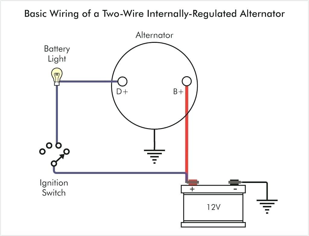 Three Wire Alternator Wiring Diagram Gm
