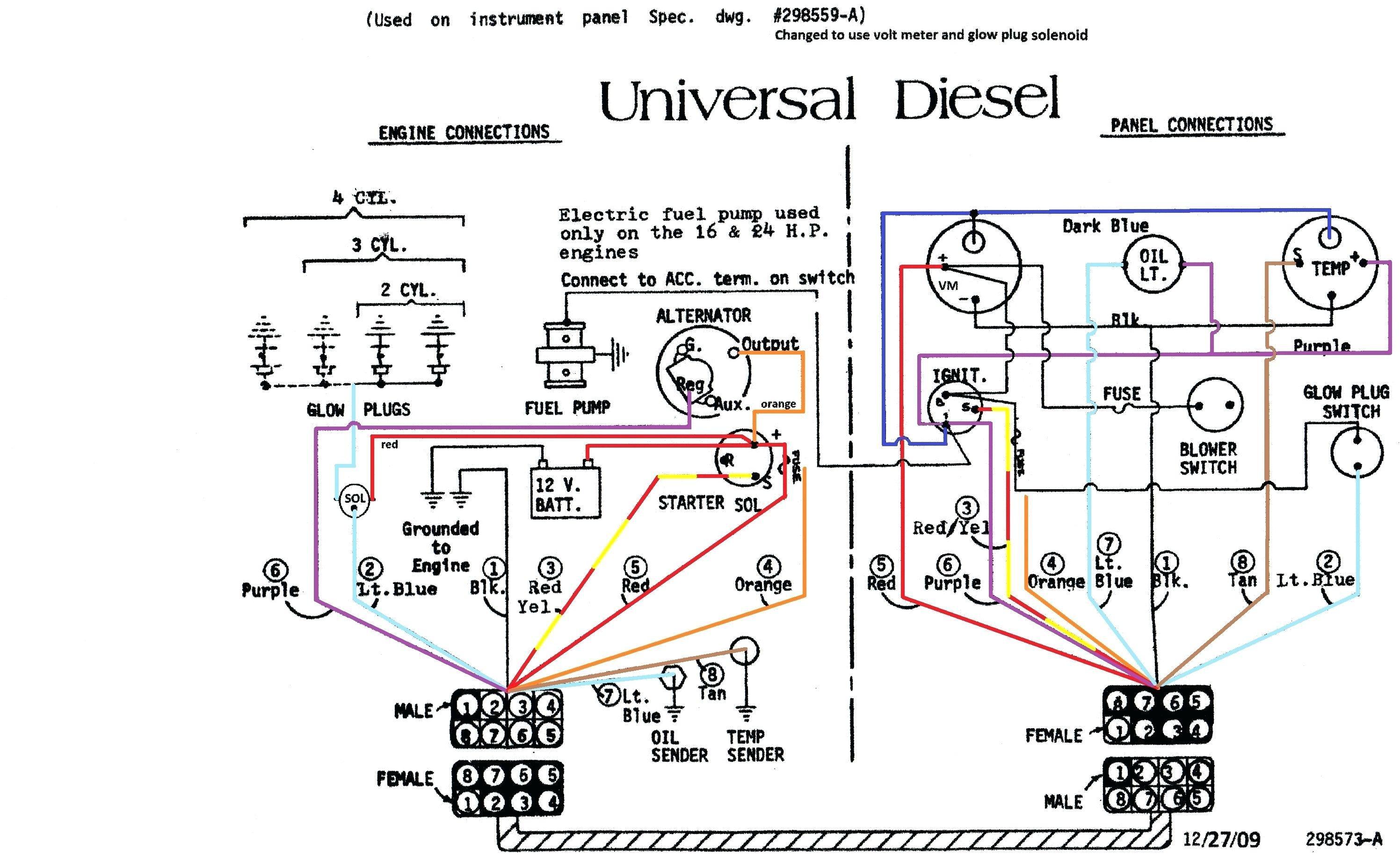 3 Wire Alternator Wiring Diagram Unique | Wiring Diagram Image