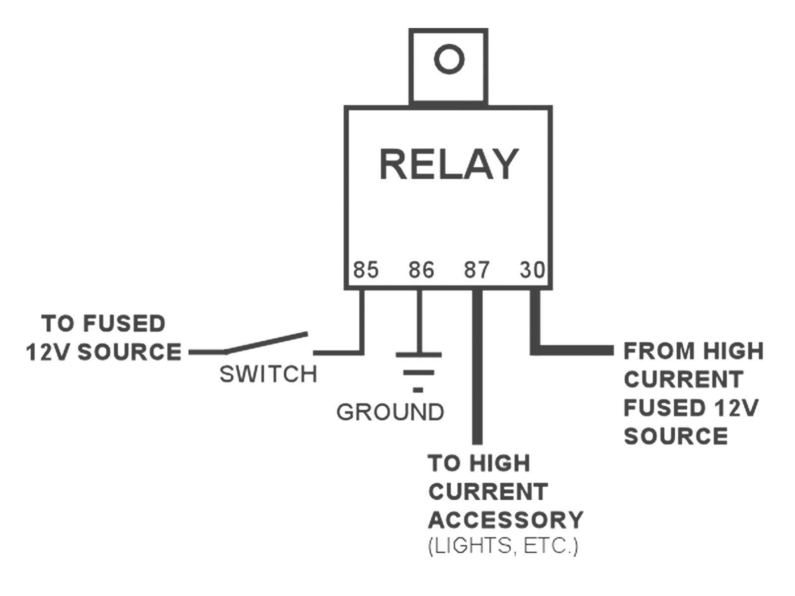 4 Pin Relay Wiring Diagram Luxury Diagram Pinelay Wiring Diagrams Automotive Beauteous Idec Del sol