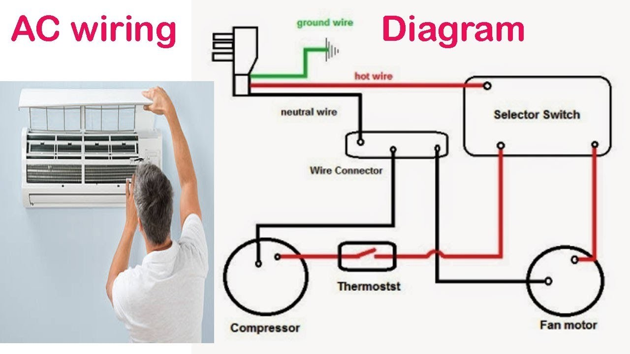 4 Way Electrical Switch Wiring Diagram Awesome Image 3 Air Conditioning Circuit Bangladeshi Maintenance Work In