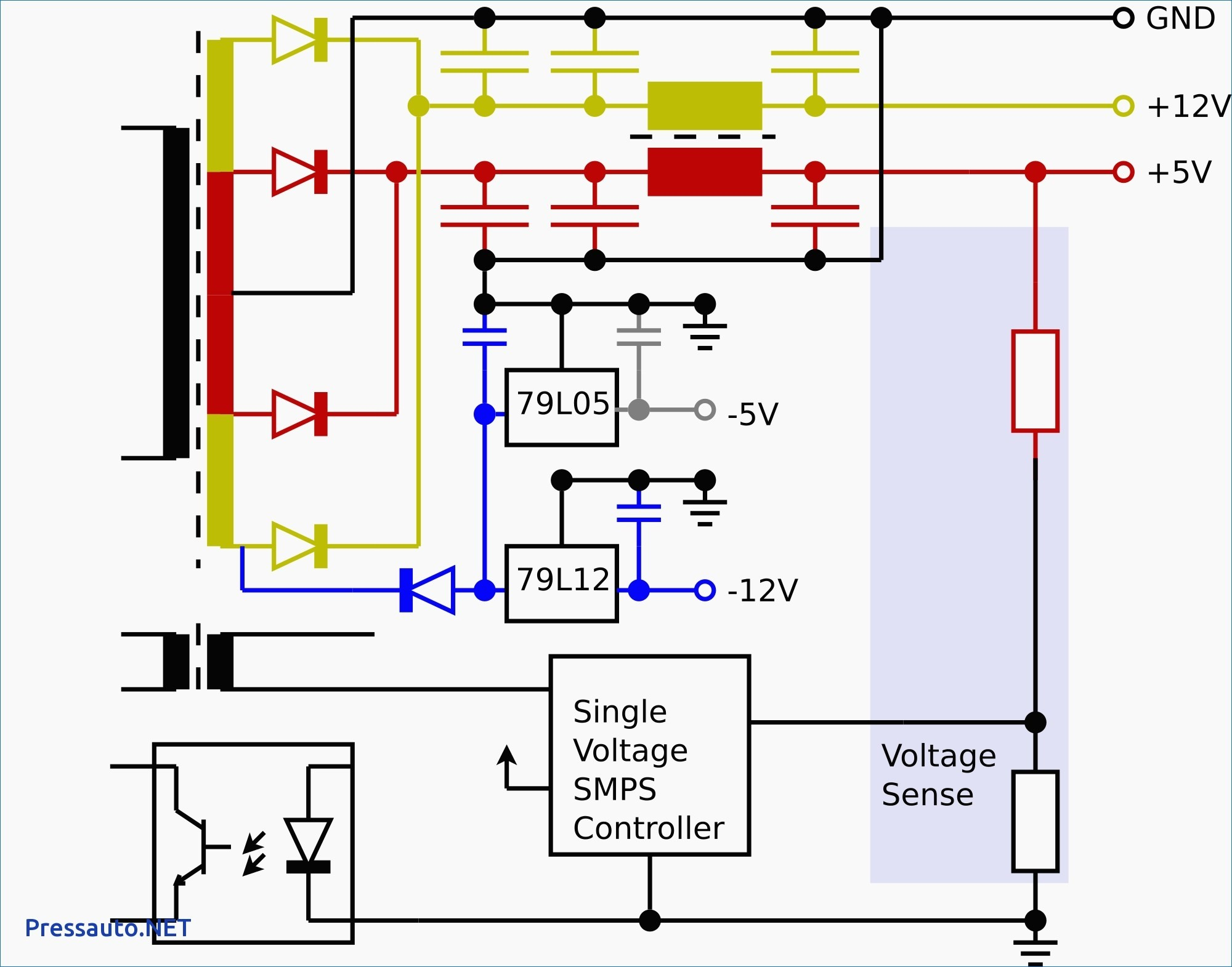 V to transformer wiring diagram image