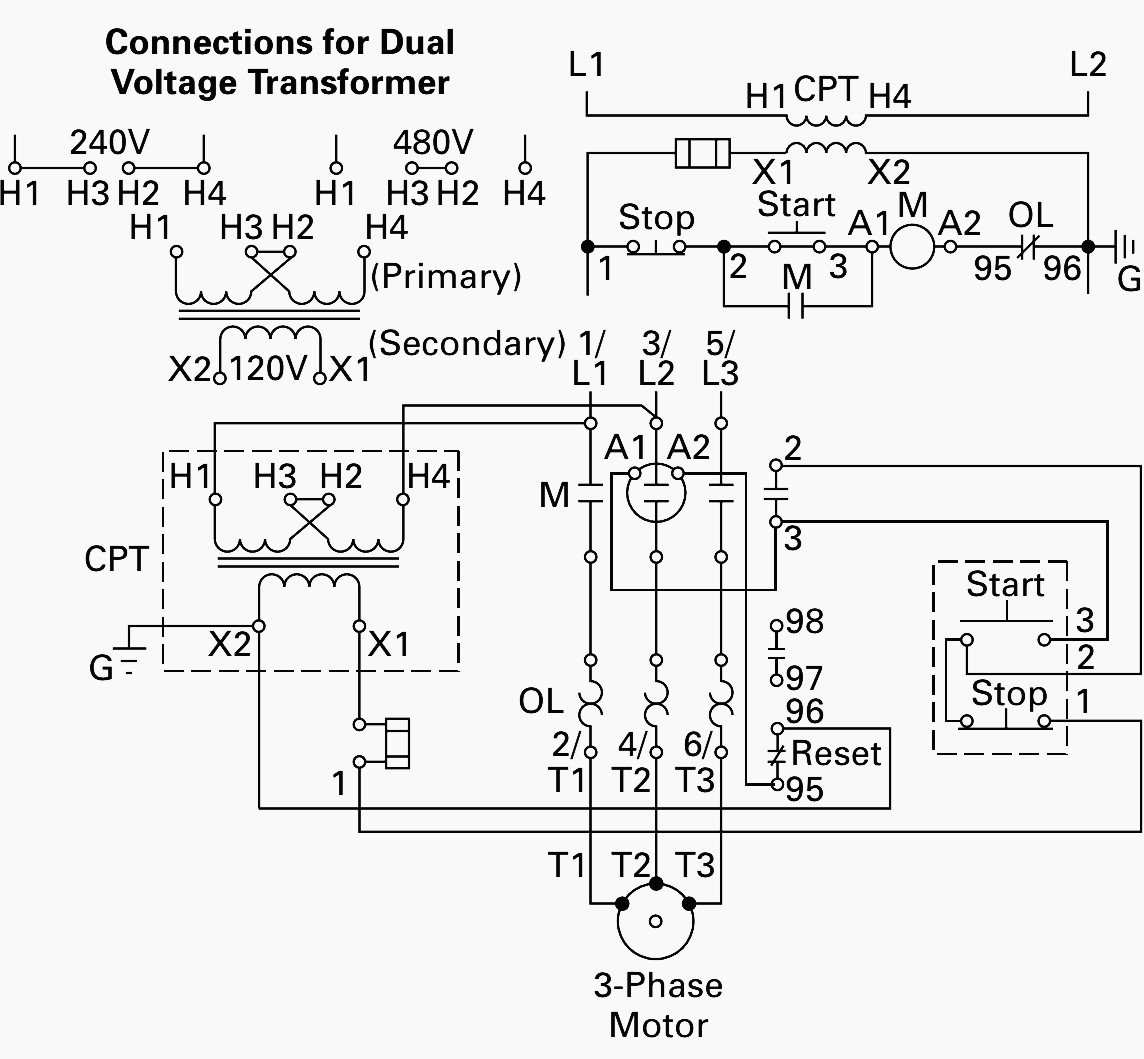 480v To 120v Transformer Wiring Diagram Image Schematic Usa Power Diagrams Schematics Control
