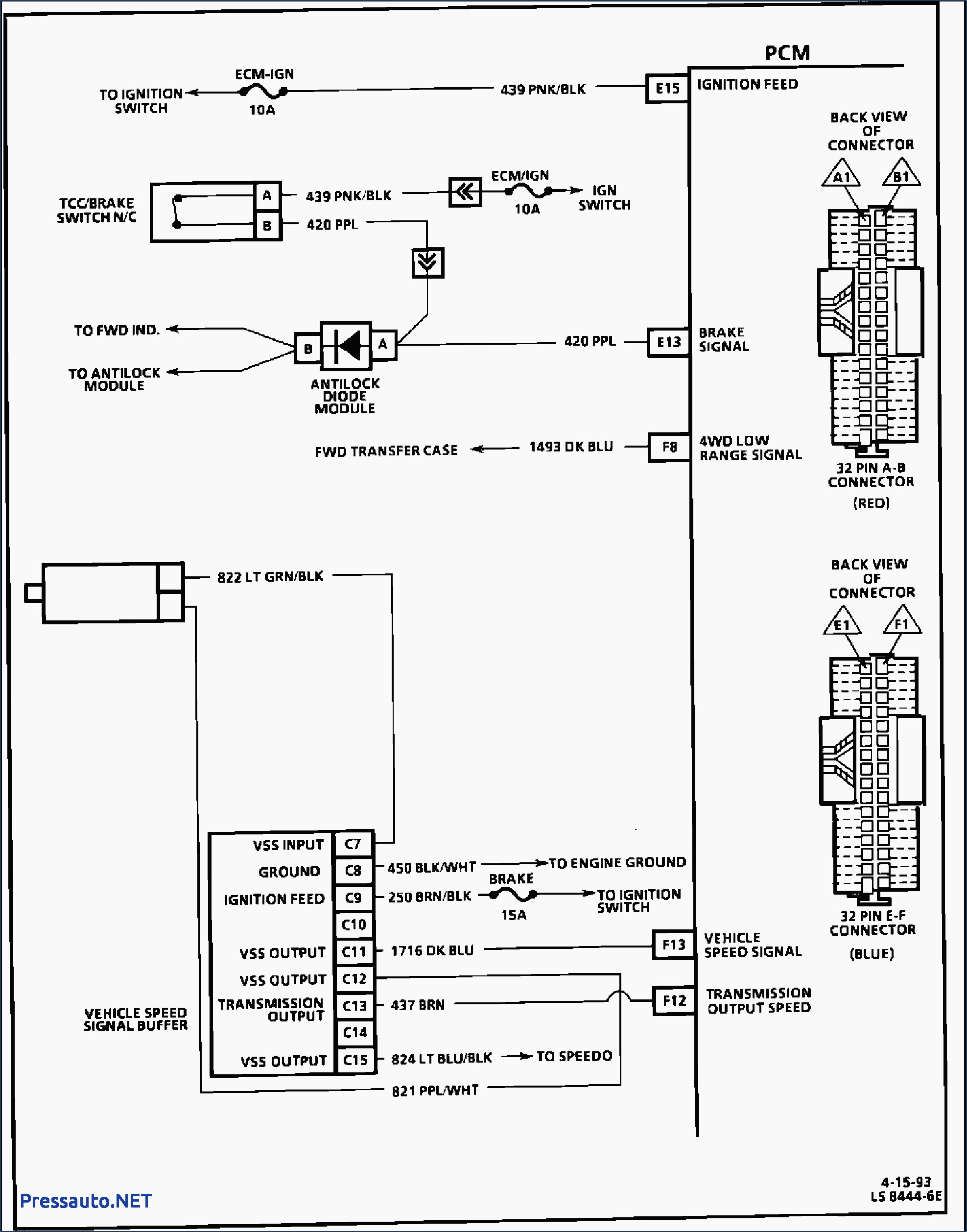 1993 4l80e Transmission Wiring Diagram | Wiring Diagram on