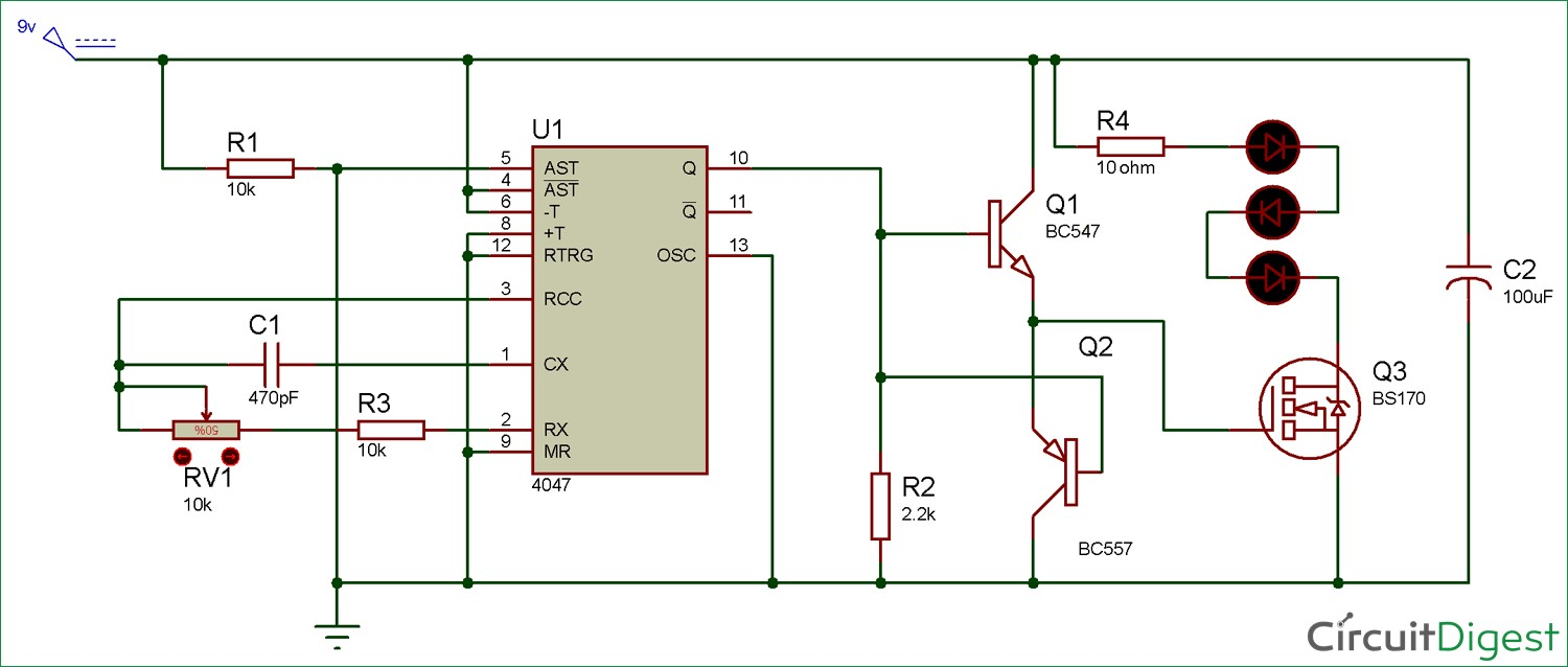 Circuit Diagram For Quiz Buzzer Using 555 Timer Ic Electronic Player Diagrams Pinterest