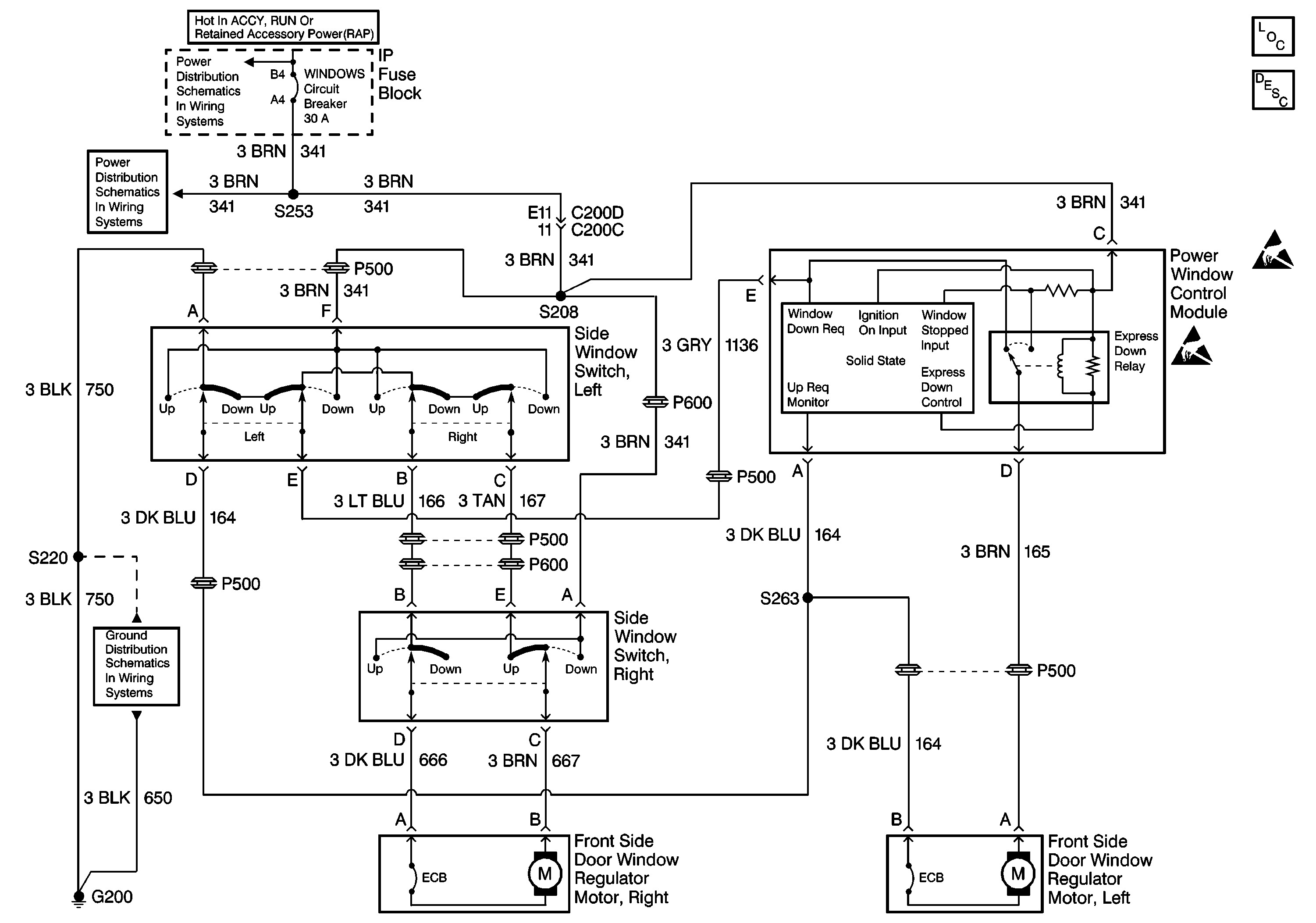 Wiring Diagram For 98 Blazer Power Window Switch Trusted 6 Pin Image