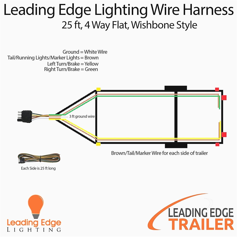 25 Mm Jack Wiring Diagram Inspiration Wiring Diagrams 7 Wire Trailer Plug 4 Pin Beautiful Light Diagram