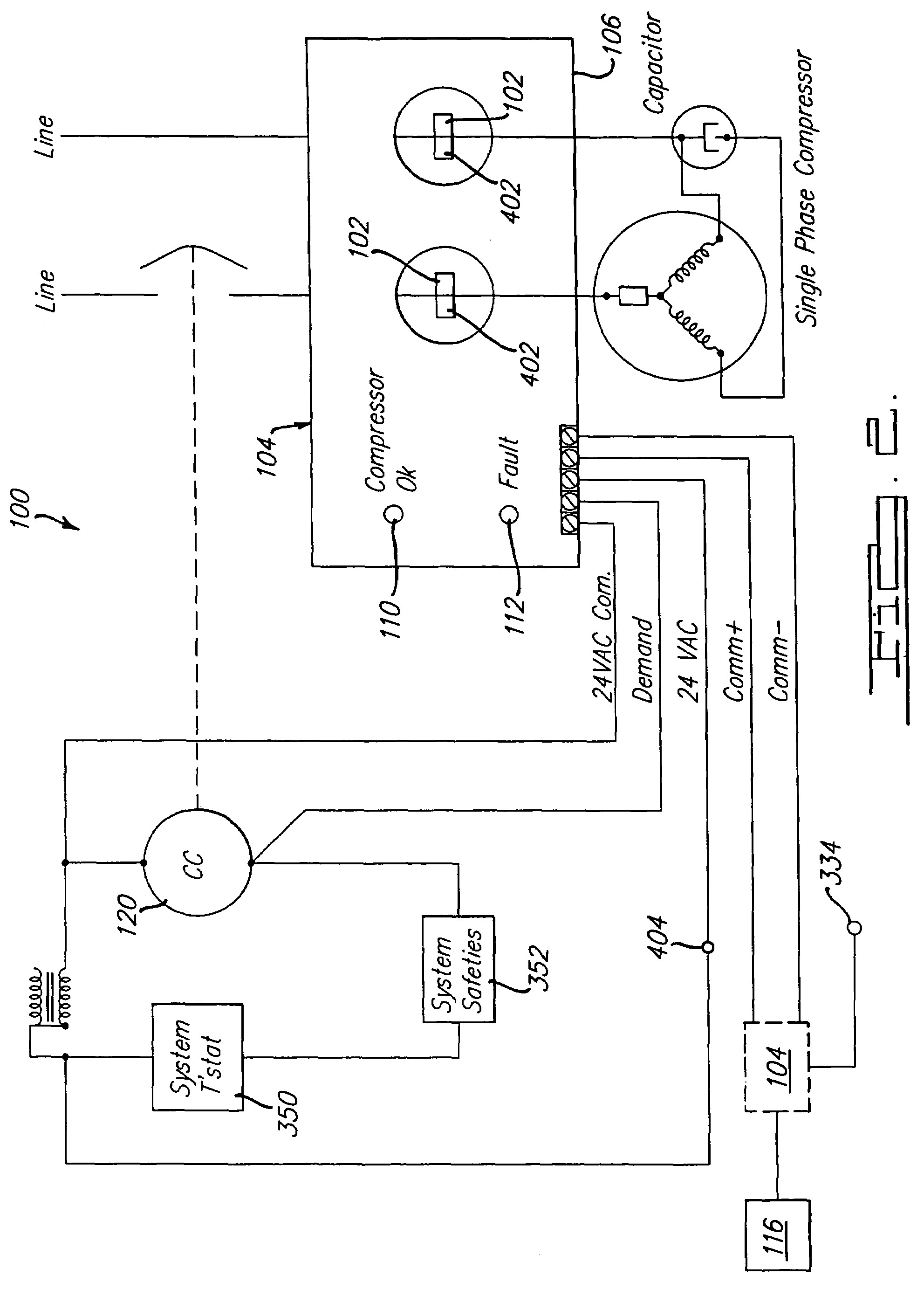 Ac Contactor Wiring Diagram Image All About And Diagrams Copeland Pressor Hvac Beauteous In