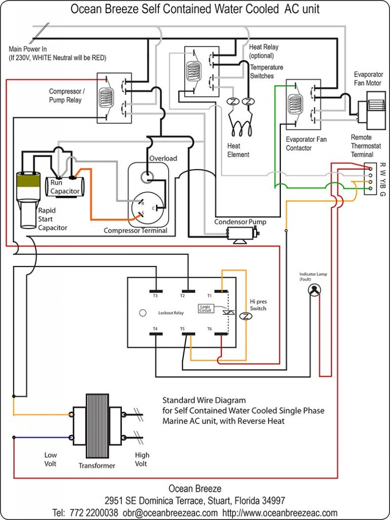 Ac Unit Wiring Diagram - wiring diagram on the net  Ton Intertherm Wiring Diagram on