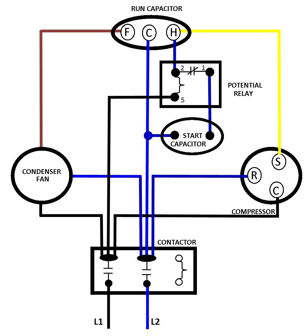 Ac Contactor Diagram - Electrical Wiring Diagram •